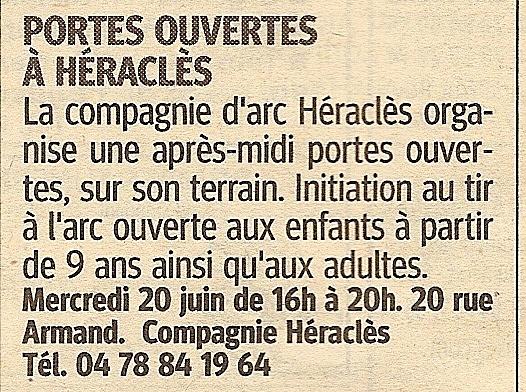 20-06-2012 Le Progres - Portes Ouvertes