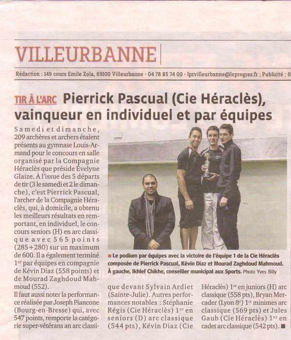 09-12-2014 Le Progres - Concours Salle